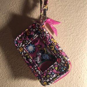Disney Minnie Mouse phone holder plus wallet.